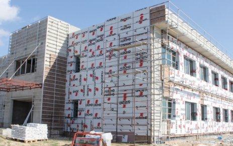 ÇOSB Özel Kreş ve Gündüz Bakımevinin inşaat çalışmalarında sona yaklaşıldı