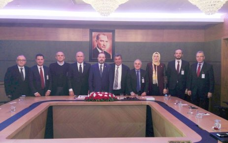 ÇOSB yönetiminden Tekirdağ milletvekillerine ziyaret