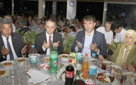 ÇOSB'de geleneksel iftar buluşması