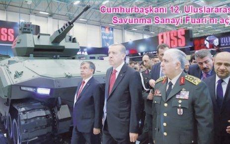 Cumhurbaşkanı 12. Uluslararası Savunma Sanayi Fuarı'nı açtı