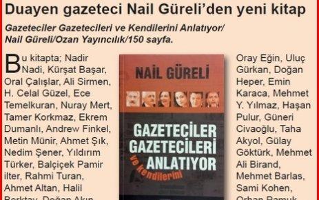 Duayen gazetecinin yeni kitabı
