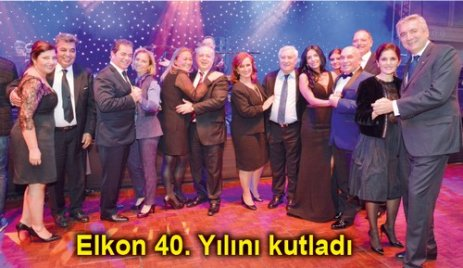 Elkon 40. Yılını kutladı
