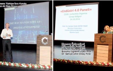 Endüstri 4.0 ÇOSB'de masaya yatırıldı