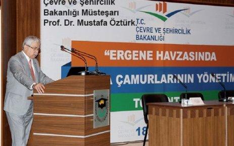 'Ergene Havzasında Arıtma Çamurlarının Yönetimi' toplantısı Tekirdağ'da yapıldı