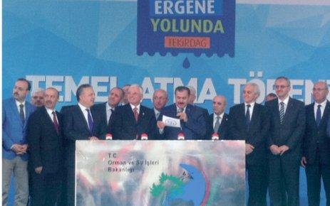 Eroğlu, 14 tesisin temelini attı
