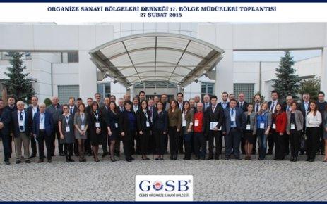 OSBDER Bölge Müdürleri GOSB'ta toplandı