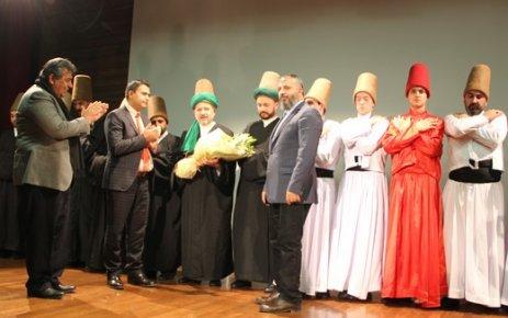 Özel ÇOSB okulunda Mevlana gösterisi