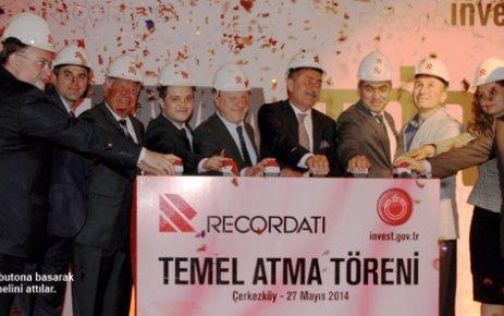 Recordati'den ÇOSB'ye 50 milyon dolarlık yatırım