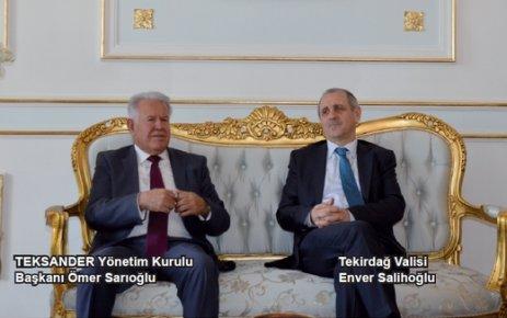 Salihoğlu: Tekirdağ'da Sanayi Odası olmalı
