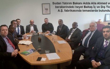 Sudanlı bakan Tekirdağlı sanayicileri yatırıma davet etti