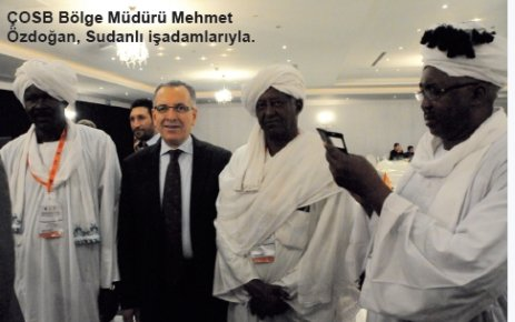 Tekirdağ Bölgesel İş Geliştirme Forumu'nda Sudanlı işadamları ağırlandı