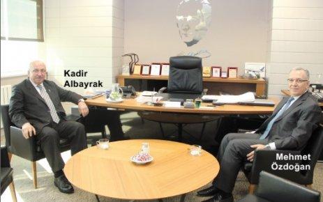 Tekirdağ Büyükşehir Belediye Başkanı Albayrak'tan ÇOSB'ye ziyaret
