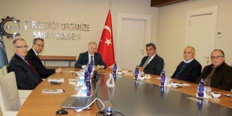 Tekirdağ Valisi Ceylan'dan ÇOSB'ye iade-i ziyaret