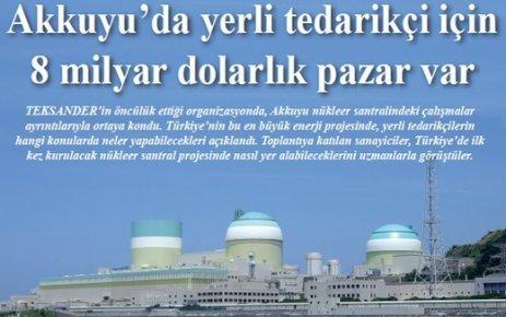 Tekirdağ'lı sanayiciler, nükleer tedarikçiliği konusunda bilgilendirildi