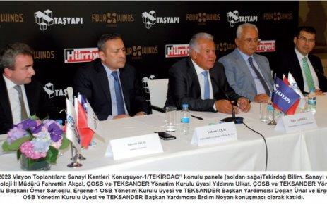 TEKSANDER Yönetim Kurulu Başkanı Sarıoğlu: Sanayi Odası istiyoruz