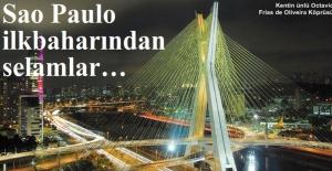 Sao Paulo ilkbaharından selamlar…