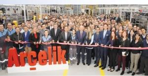 Arçelik, ÇOSB'de 500 Milyon TL'lik yatırımla akıllı televizyon fabrikası kurdu
