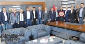 OSBDER'den Diyarbakır OSB'ye ziyaret