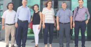 TÜBİTAK MAM Çevre ve Temiz Üretim Enstitüsü ÇOSB'yi ziyaret etti