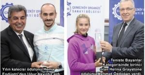 ÇOSB Futbol ve Tenis Turnuvasında...