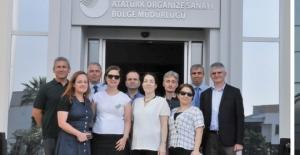 Manisa ve İzmir Atatürk OSB'ye ziyaret