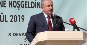 TBMM Başkanı Şentop ÇOSB Ortaokulunun...
