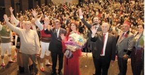 'Aşkımız Aksaray'ın En Büyük Yangını' ÇOSB'de sahnelendi