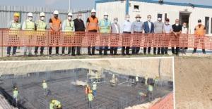 Tawalu Pharma İlaç'ın ÇOSB'deki inşaatı hızla devam ediyor