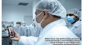 Sağlık Bakanı Koca 'yerli aşı...