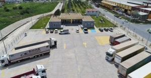 ÇOSB 2. Kısım TIR Parkı faaliyete geçti