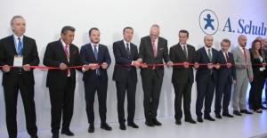 A. Schulman Plastik'in ÇOSB fabrikası törenle açıldı