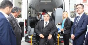 ÇOSB'den bir Engelli Aracı bağışı daha…