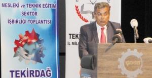 Eğitim ve sektör temsilcileri ÇOSB'de mesleki ve teknik eğitimi ele aldı