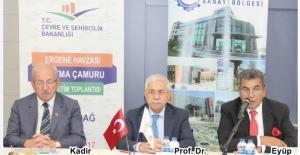 Ergene Havzası Arıtma Çamuru Yönetimi ÇOSB 'de masaya yatırıldı