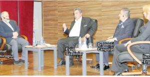 Sanayiciler 'Girişimcilik Paneli'nde velilere tekstil sektörünü anlattılar