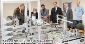 Endüstri 4.0 laboratuvarı örnek olacak