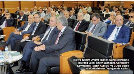 Trakya'da yatırım fırsatları İSO'da masaya yatırıldı
