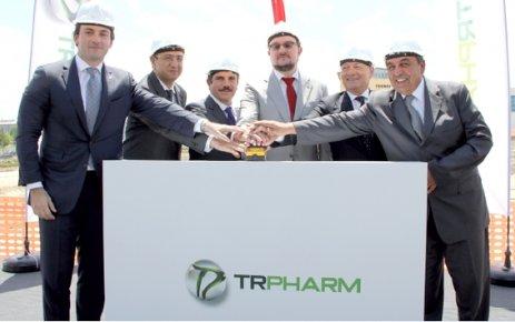 Trpharm'ın ÇOSB tesislerinin temeli atıldı