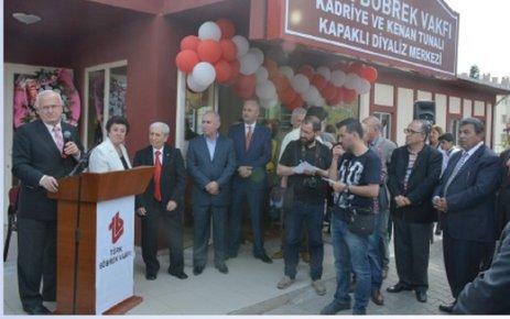 Türk Böbrek Vakfı Kapaklı Diyaliz Merkezi ek hizmet binası açıldı
