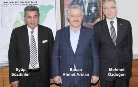 Ulaştırma Bakanı Arslan Kapaklı'da iftara katıldı