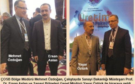 Üretim Reform Paketi Çalıştayı'nda tüm üretim süreçleri masaya yatırıldı