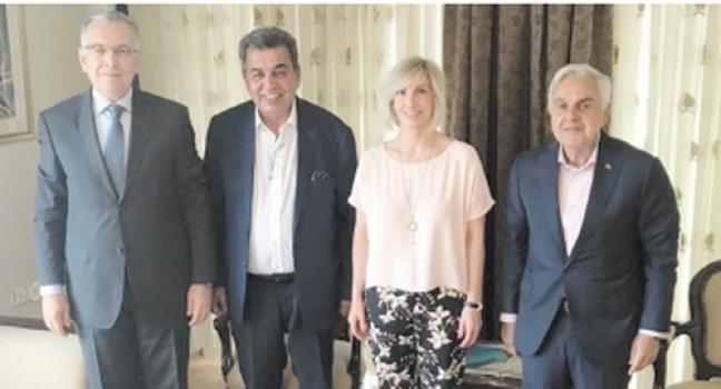 ÇOSB yönetiminden Yunanistan Edirne Konsolosuna ziyaret