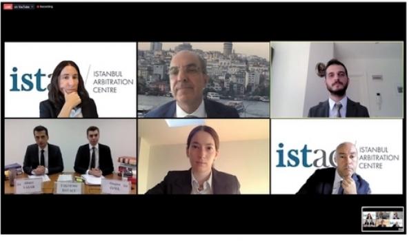 Geleceğin tahkim avukatlarından pandemi koşullarında online yarışma