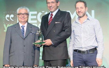 Arçelik, 'Atık Yönetimi' dalında birincilik ödülü aldı
