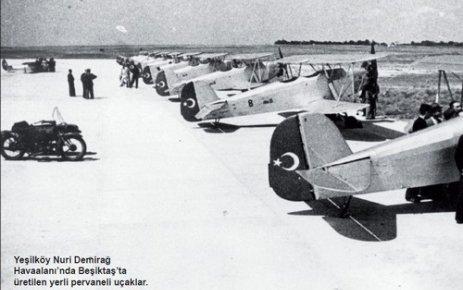 Beşiktaş'ta bir uçak fabrikası olduğunu biliyor muydunuz?