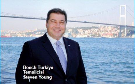 Bosch Türkiye Temsilcisi Steven Young: Sanayi devriminin öncüleri arasındayız
