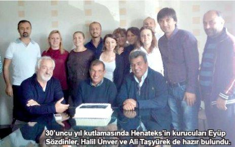 Henateks 30. kuruluş yılını kutladı
